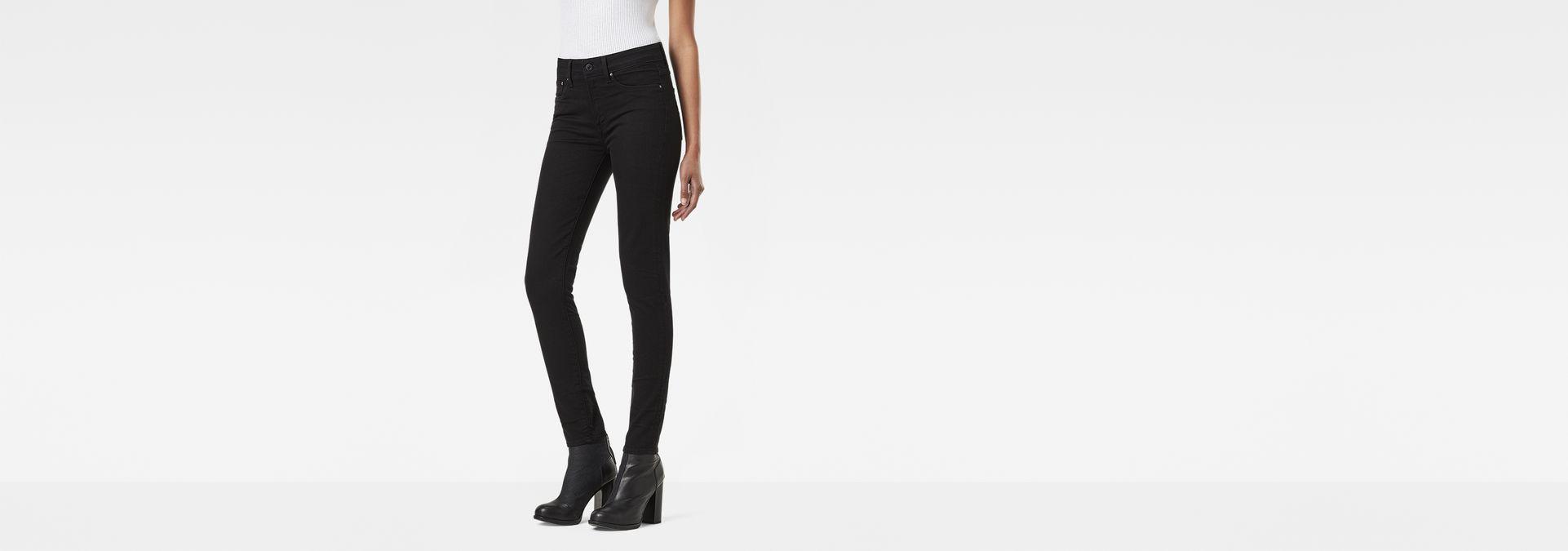 10311a2753f 3301 Ultra High Super Skinny Jeans   dk aged   G-Star RAW®