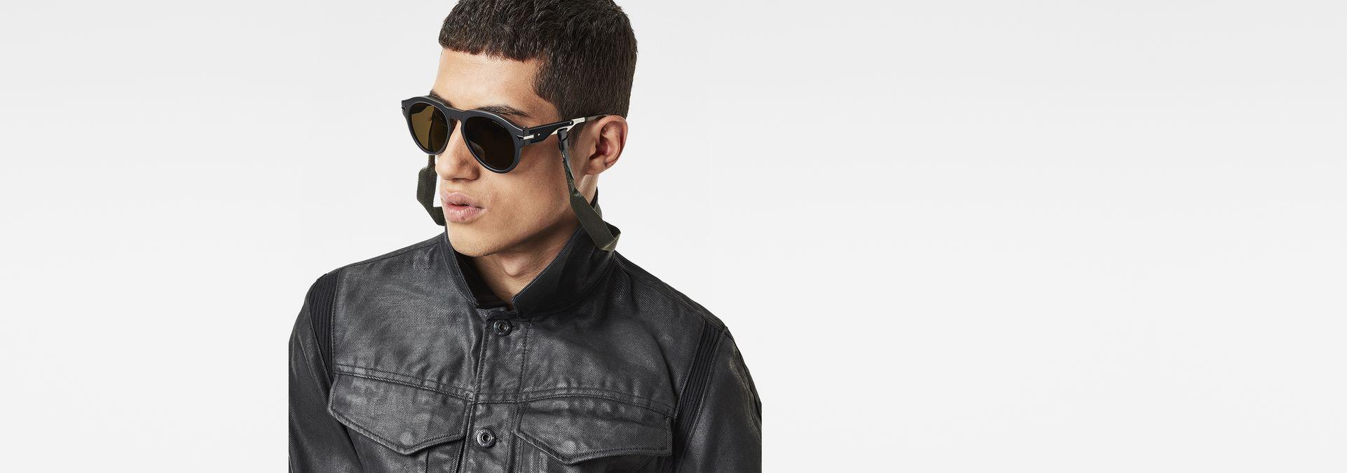 9b14975c28b ... G-Star RAW® Rustic Vodan Sunglasses Black ...