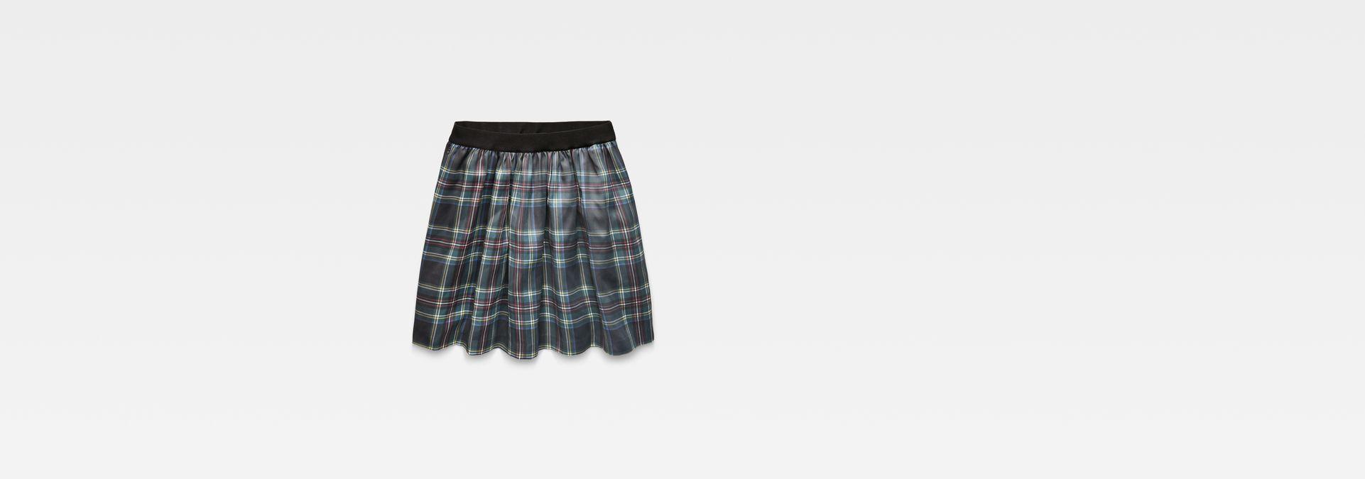 4705be10b82 ... model back zoom · G-Star RAW® G-Star Flared Mini Skirt Black flat front  ...