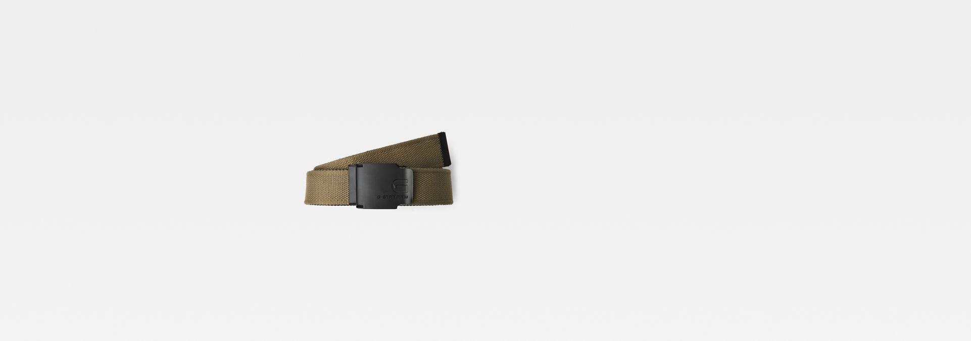 Zioks Webbing Belt   army green black   G-Star RAW® 85caae496b2