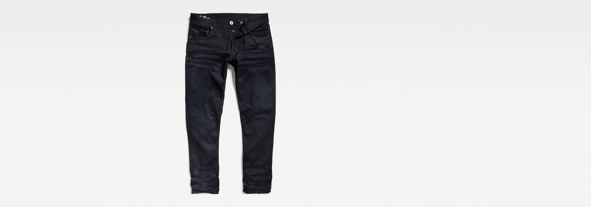 ... G-Star RAW® 3301 Straight Tapered Jeans Dark blue ...