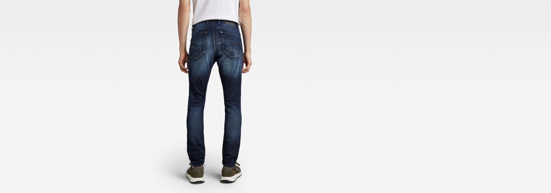 ... G-Star RAW® Revend Skinny Jeans Dark blue ...