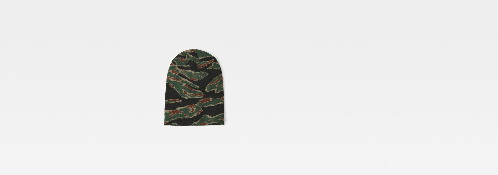 Effo long beanie   smoke green dk vermont green ao   G-Star RAW® cd673219a2c1