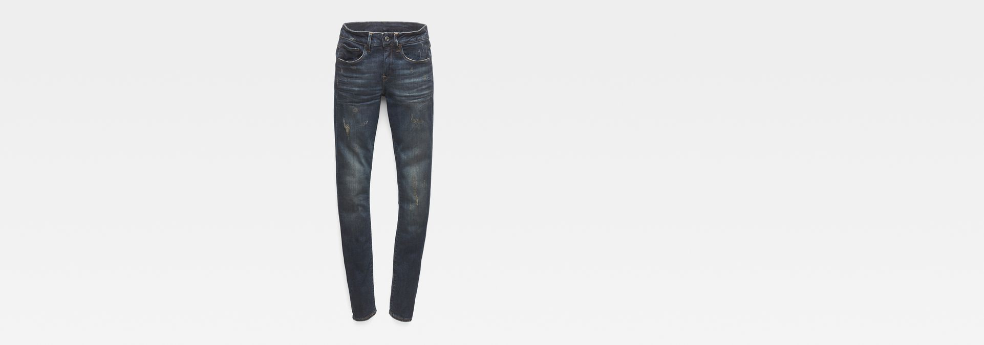 9ffc352106e1e6 ... G-Star RAW® 3301 Deconstucted Mid Waist Skinny Jeans Dark blue ...