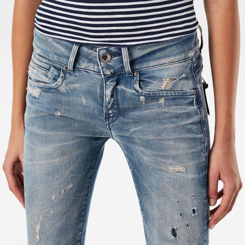 midge cody mid waist skinny jeans g star raw. Black Bedroom Furniture Sets. Home Design Ideas