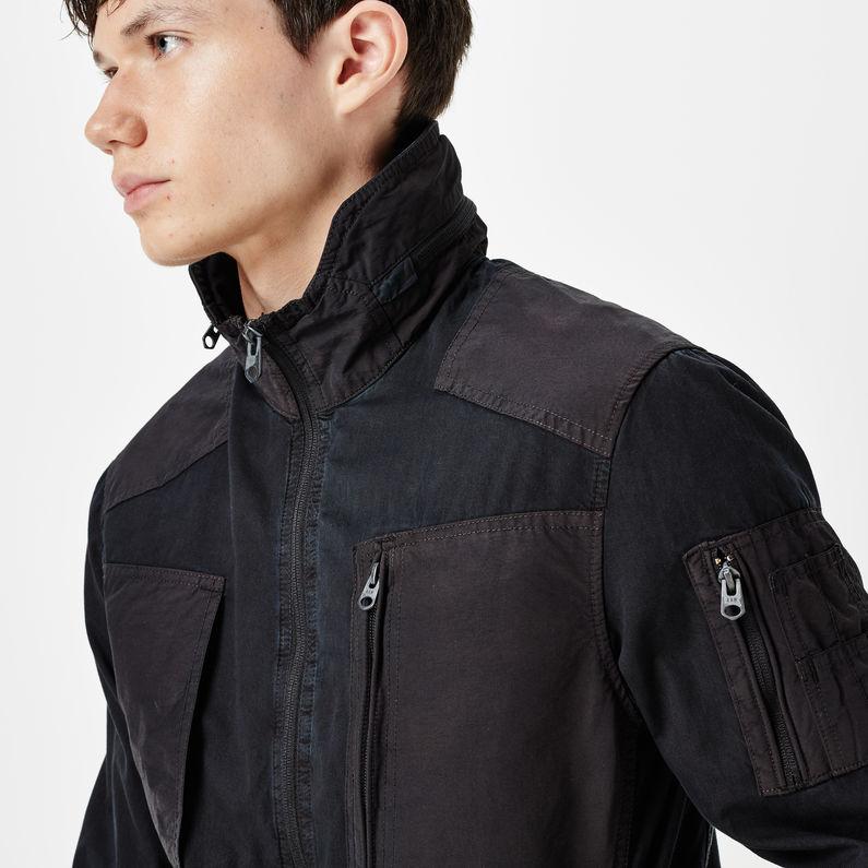 G star black powel overshirt jacket