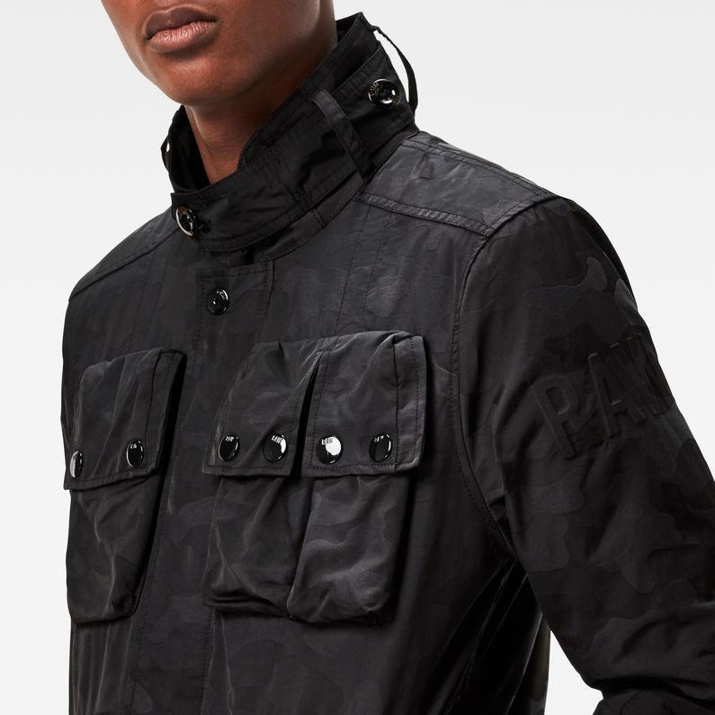 Ospak Quilted Overshirt Blackblack G Star Raw