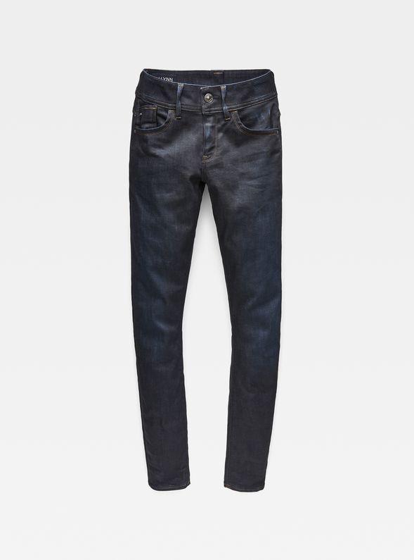 Lynn Mid Waist Skinny Jeans G-STAR RAW
