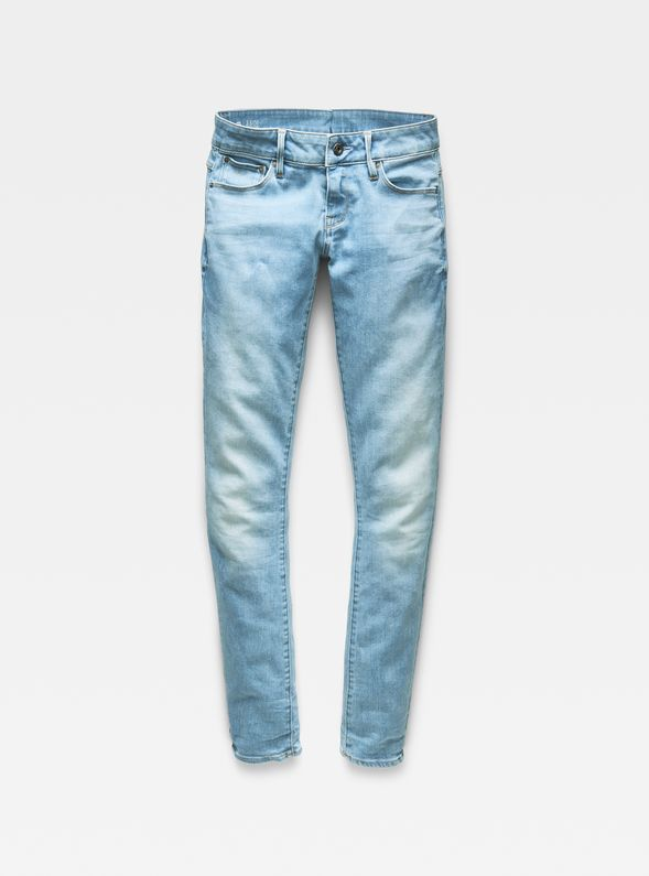 3301 Low Waist Skinny Jeans G-STAR RAW