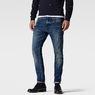 G-Star RAW® 3301 Super Slim Red Listing Jeans Dark blue