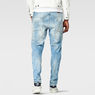 G-Star RAW® A-Crotch 3D Tapered Jeans Light blue