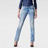 G-Star RAW® Attacc Mid Waist Straight Jeans Light blue