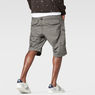 G-Star RAW® Rovic Belt Bermuda Shorts Grey