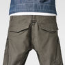 G-Star RAW® Rovic Zip 3D Tapered Pants Grey model back zoom