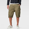 G-Star RAW® Rovic Combat Bermuda Green model front