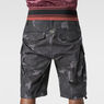 G-Star RAW® Rovic Combat Bermuda Black model back zoom