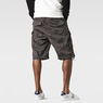 G-Star RAW® Rovic Camo Zip Bermuda Grey model back