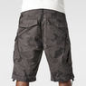 G-Star RAW® Rovic Camo Zip Bermuda Grey model back zoom