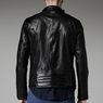 G-Star RAW® Chopper Leather Jacket Black model side