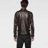 G-Star RAW® Edla Leather Jacket Brown model back