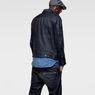 G-Star RAW® Attacc Slim 3D Jacket Dark blue model back