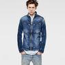 G-Star RAW® Arc Zip 3D Slim Jacket Light blue model front