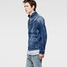 G-Star RAW® Arc Zip 3D Slim Jacket Light blue model side
