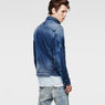 G-Star RAW® Arc Zip 3D Slim Jacket Light blue model back