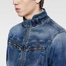 G-Star RAW® Arc Zip 3D Slim Jacket Light blue flat front