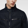 G-Star RAW® Arc Zip 3D Slim Jacket Dark blue flat front