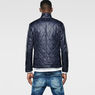 G-Star RAW® A Crotch Varsity Padded Cropped Blazer Dark blue flat front