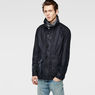 G-Star RAW® A Crotch Indigo Military Coat Dark blue model side