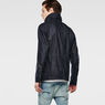 G-Star RAW® A Crotch Indigo Military Coat Dark blue model back