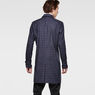 G-Star RAW® James Check Trench Dark blue model back