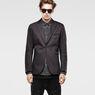 G-Star RAW® Derex Tuxedo Blazer Black model front