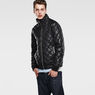 G-Star RAW® Meefic Quilted Lightweight Jacket Black model front