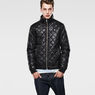 G-Star RAW® Meefic Quilted Lightweight Jacket Black model side