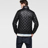 G-Star RAW® Meefic Quilted Lightweight Jacket Black model back