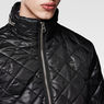 G-Star RAW® Meefic Quilted Lightweight Jacket Black flat front