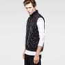 G-Star RAW® Meefic Quilted Vest Black model side