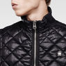 G-Star RAW® Meefic Quilted Vest Black flat front
