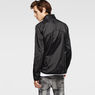G-Star RAW® Hamzer Lightweight Biker Jacket Black model back