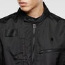 G-Star RAW® Hamzer Lightweight Biker Jacket Black flat front