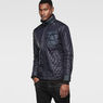 G-Star RAW® A Crotch Varsity Padded Lightweight Jacket Dark blue model side