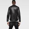 G-Star RAW® A Crotch Varsity Snap Lightweight Jacket Black flat front