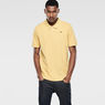G-Star RAW® Nuelik Polo Yellow model front