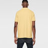 G-Star RAW® Nuelik Polo Yellow model back