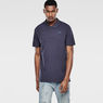 G-Star RAW® Nuelik Polo Dark blue model front