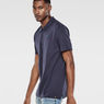 G-Star RAW® Nuelik Polo Dark blue model side