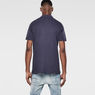 G-Star RAW® Nuelik Polo Dark blue model back
